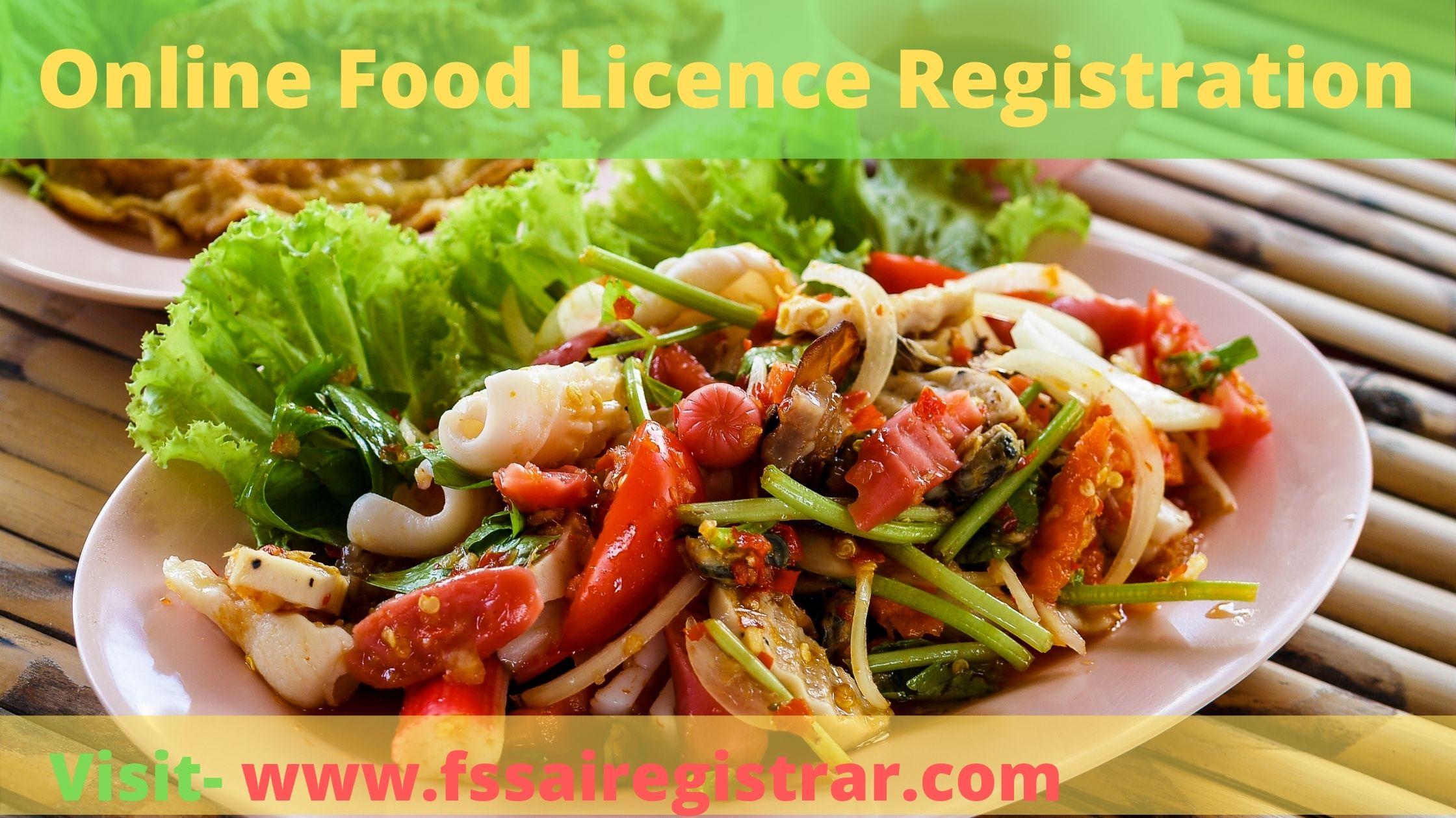 Online Food Licence Registration